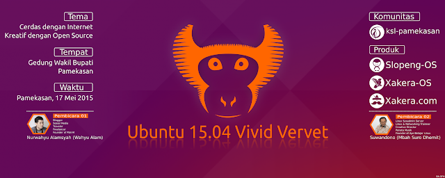 Release Party Ubuntu 15.04 | Suro Dhemit