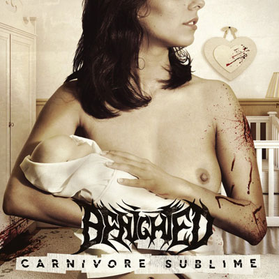 The 10 Best Album Cover Artworks of 2014: 09. Benighted - Carnivore Sublime