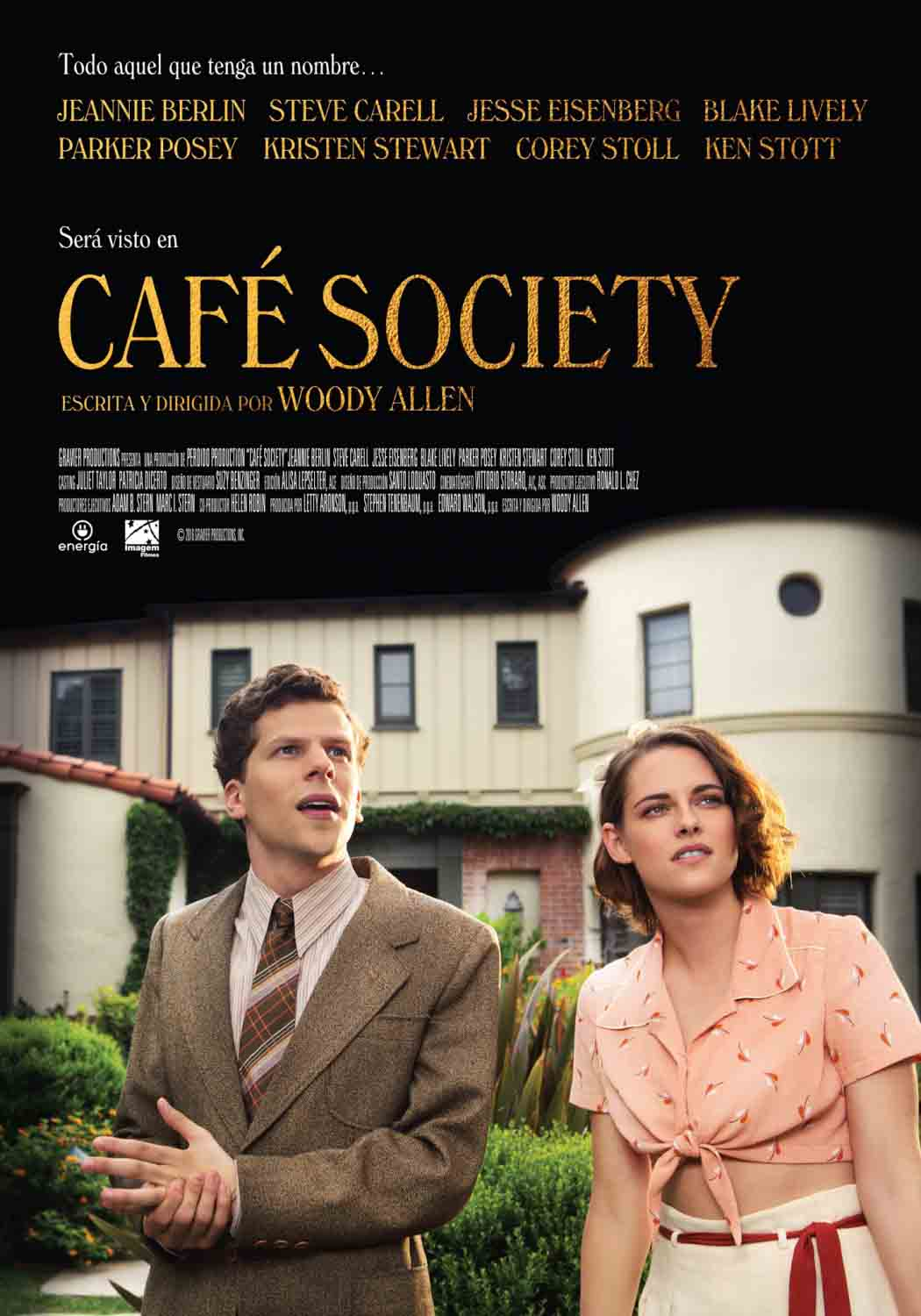 Café Society Torrent – BluRay 720p e 1080p Dual Áudio (2016)