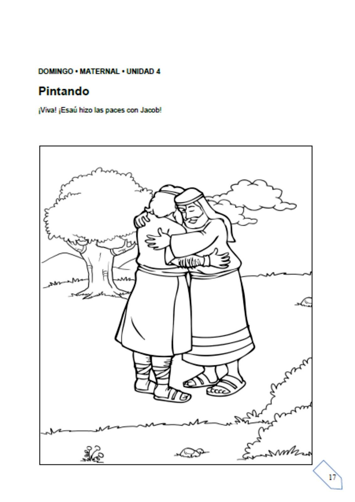Historia. Jacob y Esaú hacen las paces ~ Escuelita Biblica Infantil