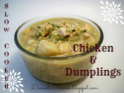 Slow Cooker Chicken and Dumplings #CrockPot #Crock #Pot #Quick #Easy #Meal #Meals #Dinner #Dinners #Chicken #Dumplin #Dumplins