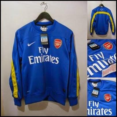 Sweater GO Arsenal Biru