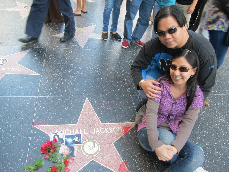 Hollywood Walk of Fame Michael Jackson star