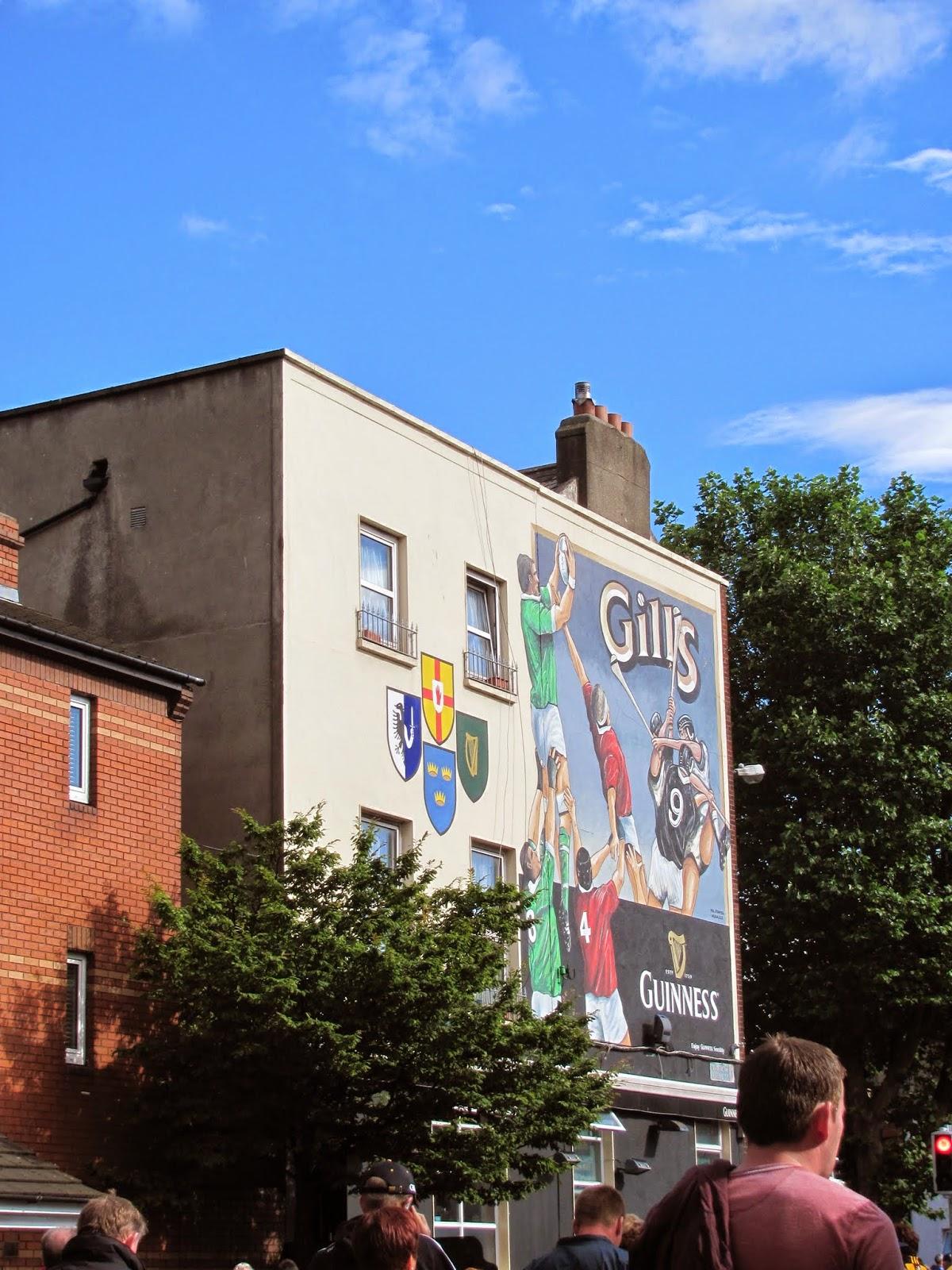 Gill's Pub Near Croke Park