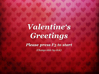 Valentines Day Greetings PowerPoint Template 001