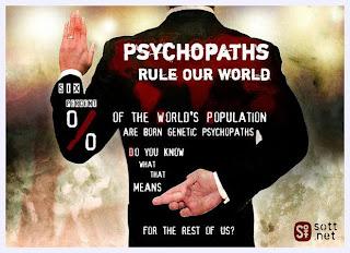 Ψυχοπαθείς κυβερνούν τον κόσμο