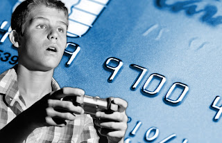 Gamer and Credit Card