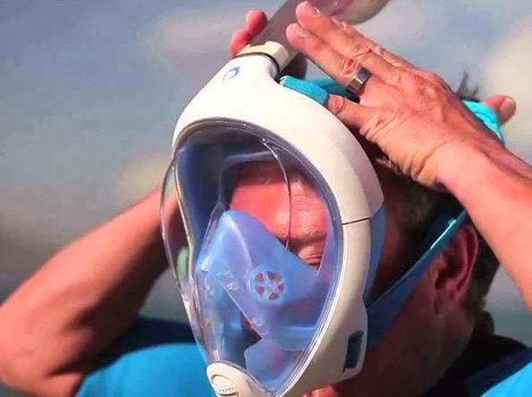 easybreath topeng untuk snorkeling