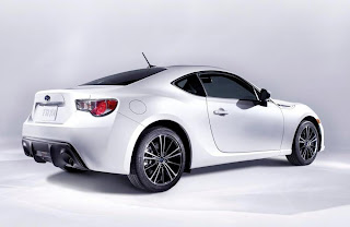 Subaru BRZ (2012) Rear Side