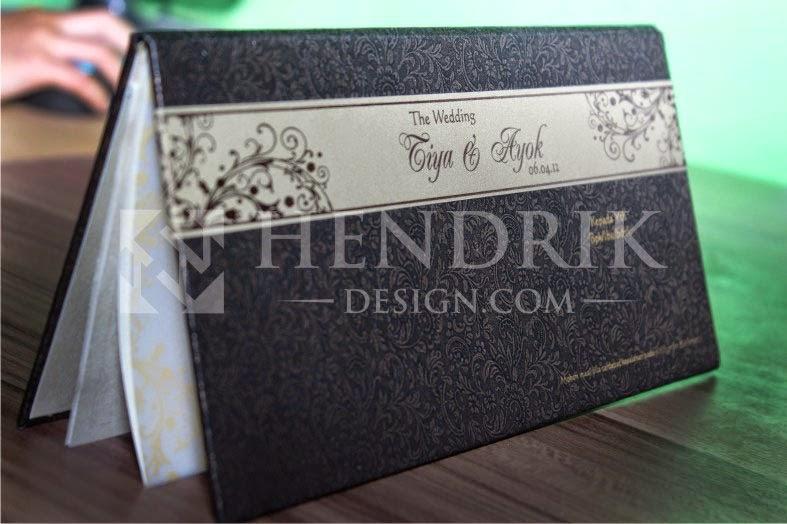 Desain Undangan Pernikahan Tiya & Ayok (HCGD-18)