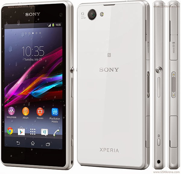 Smartphone terbaik Sony Xperia Z1 Compact