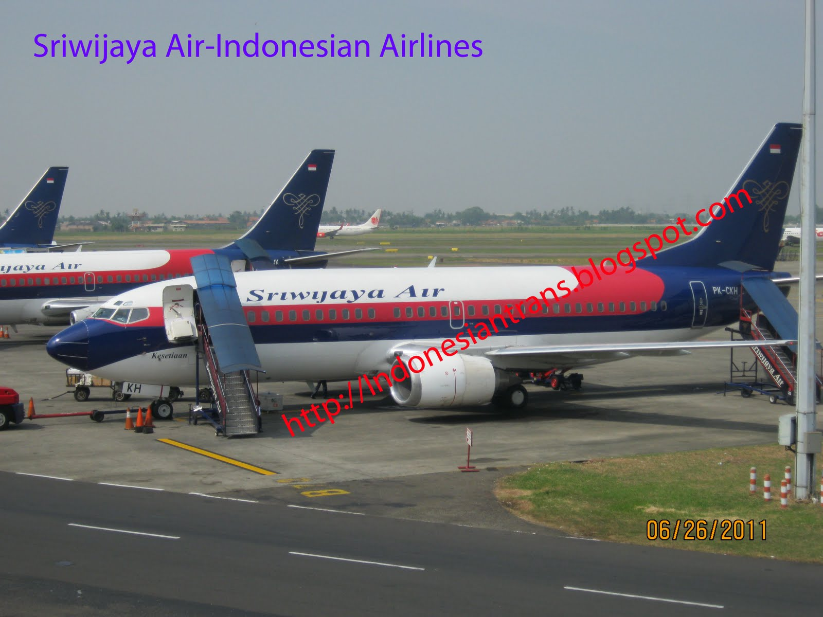 Airlines: routes map of Sriwijaya Air