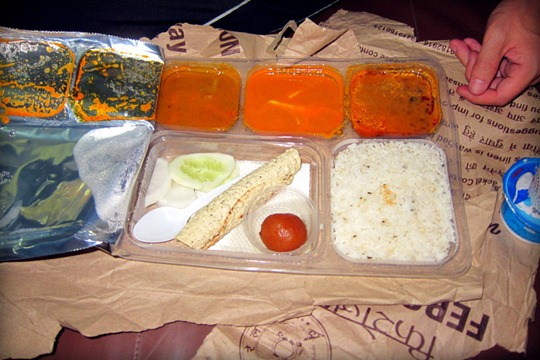 train food parcel by travel khana
