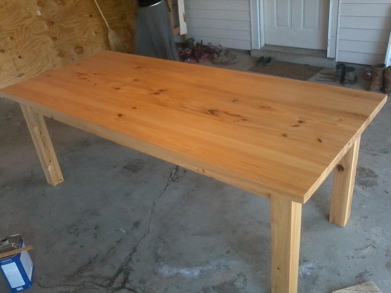 revival timberworks cypress table. Black Bedroom Furniture Sets. Home Design Ideas