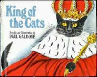 bookcover of The King of the Cats by Paul Galdone