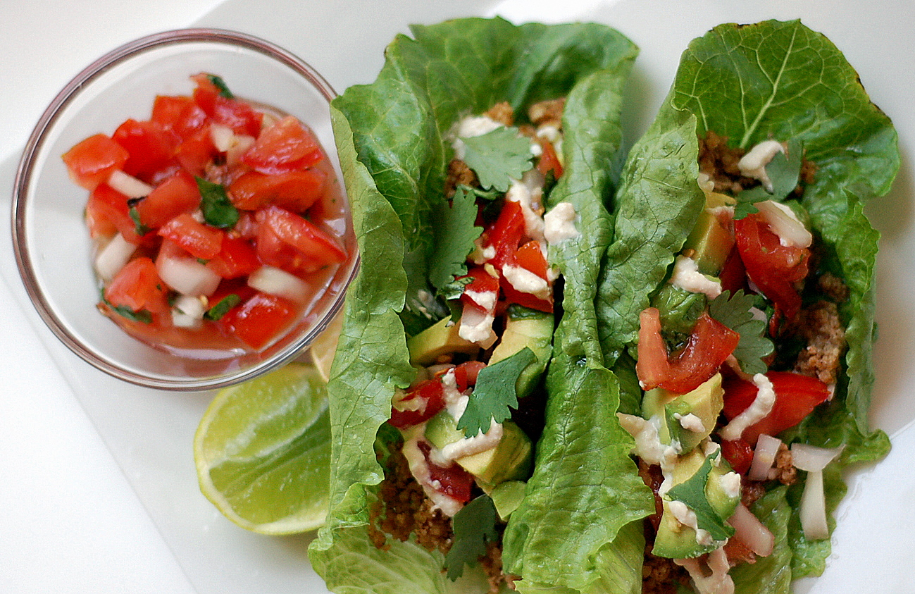 The Grains of Paradise: Raw Vegan Tacos