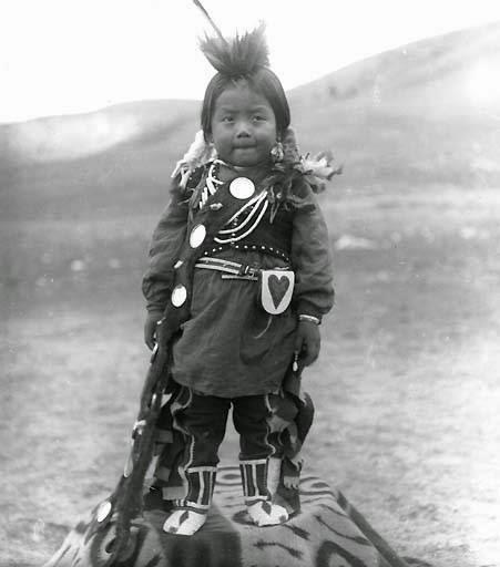 Nez Perce boy photograph