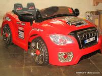 Mobil Mainan Aki Junior TR1101 Audi 2 Kursi