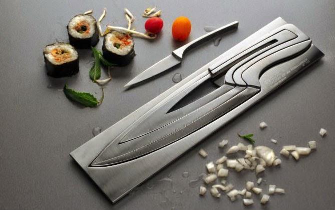 porta facas compacto