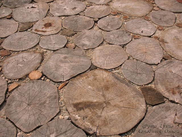 Деревянная брусчатка