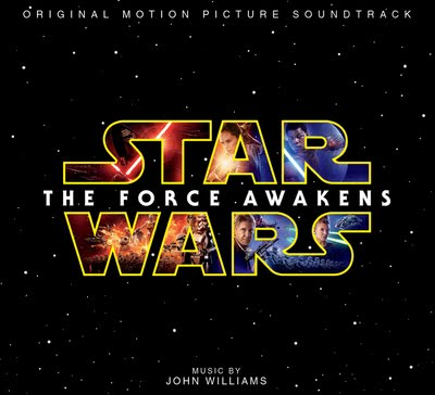 'STAR WARS - THE FORCE AWAKENS' - THE OFFICIAL SOUNDTRACK BY JOHN WILLIAMS