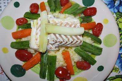 cous cous pesce verdure
