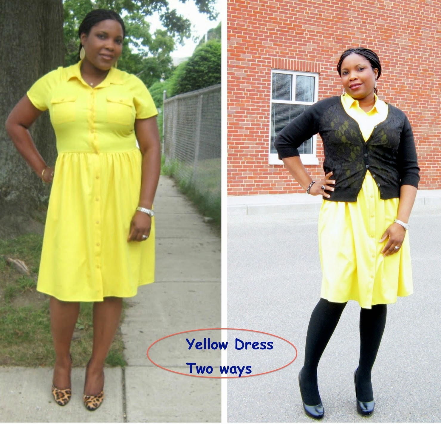 how to add interest to a dress, how to wear a dress