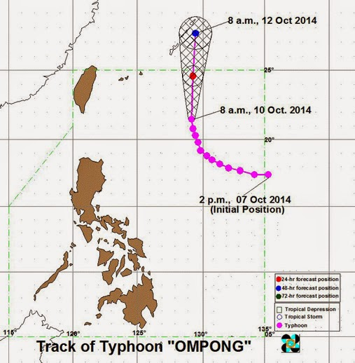'Ompong' to exit PH on Saturday (October 11)