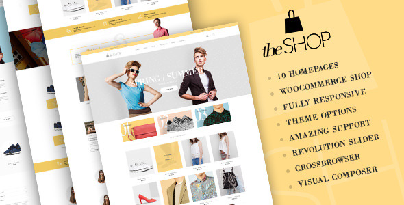 download theShop - Retina Responsive WordPress Shop Theme