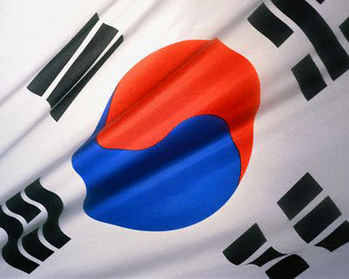 Graafix wallpaper flag of south korea - Picture of a korean flag ...