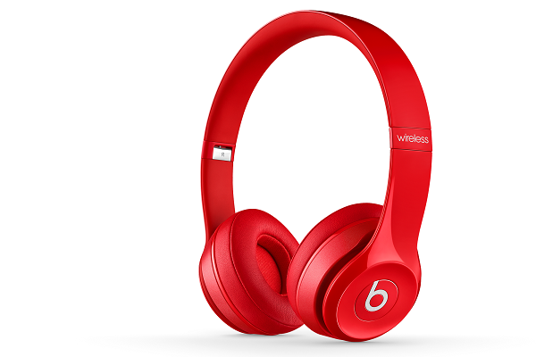 Beats Solo 2 Wireless in Red