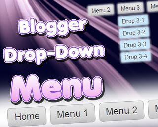 CSS3 and Jquery Dropdown Menu for Blogger