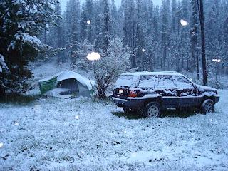 Camping last Memorial Day