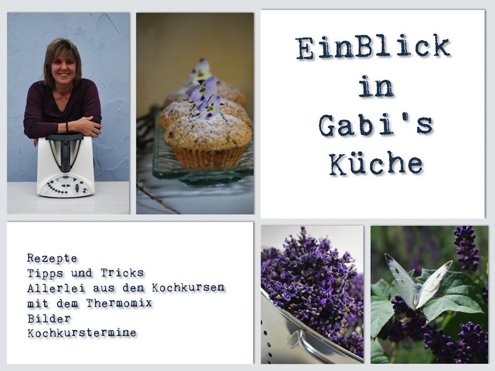 EinBlick in Gabi's Küche