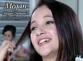 Foto Anak Jalanan Megan Domani sebagai Megan