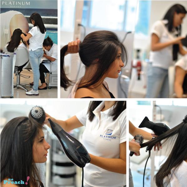escova - cabelo - Cauterização Capilar Lanza Ultimate - Salão Platinum Visage