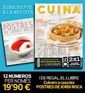 subsriu-te a la revista cuina per 1,65 € cada número