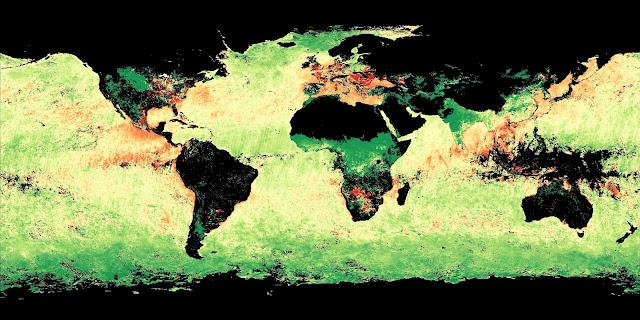 Se aceleran los efectos del cambio climático en la Tierra Aerosols-4-2012