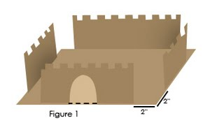 Kids 39 castles for Castle made out of cardboard boxes