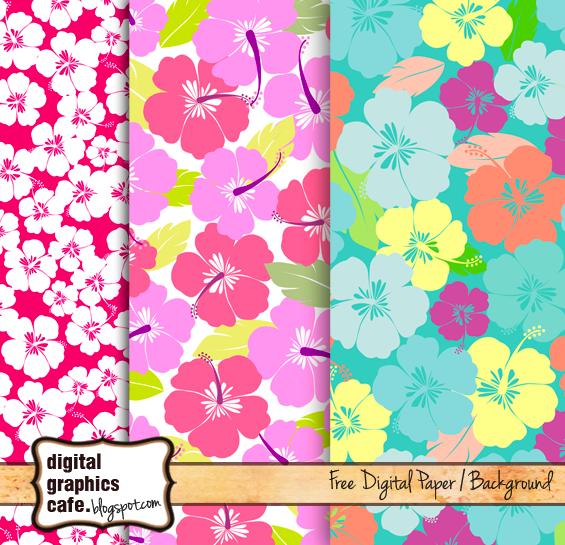 scrapbook paper floral