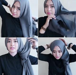 Tutorial Hijab Pashmina Simpel