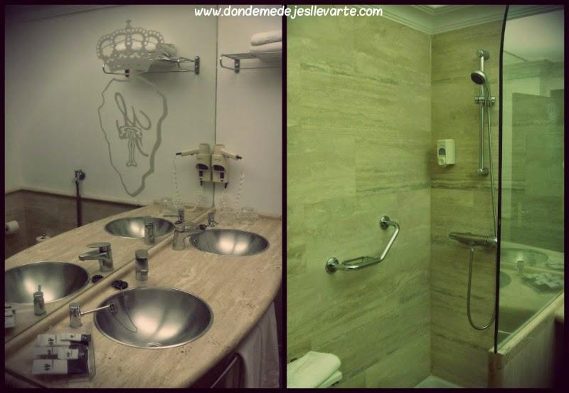 Baño del Hotel Taburiente - Santa Cruz de Tenerife