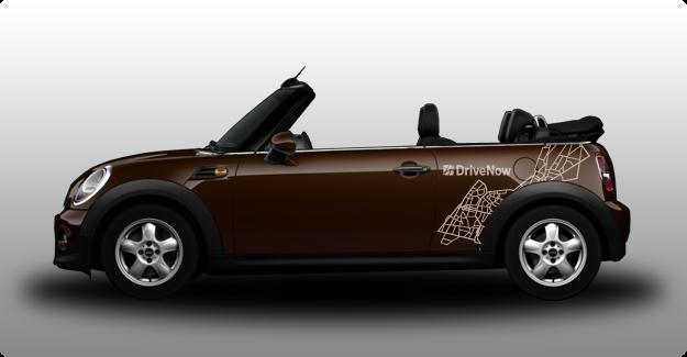reise mit drivenow im mini cabrio durch m nchen. Black Bedroom Furniture Sets. Home Design Ideas
