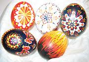 Huevos de pascua huevos