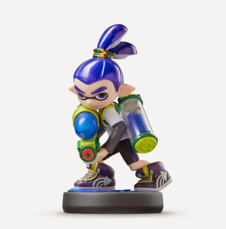 JUGUETES - NINTENDO Amiibo - Figura Inkling : Boy - Chico   (29 Mayo 2015) | Videojuegos | Muñeco | Splatoon Collection  Plataforma: Wii U & Nintendo 3DS | A partir de 6 años