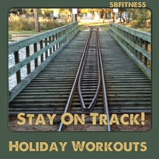 how to stay on track for a holiday weekend