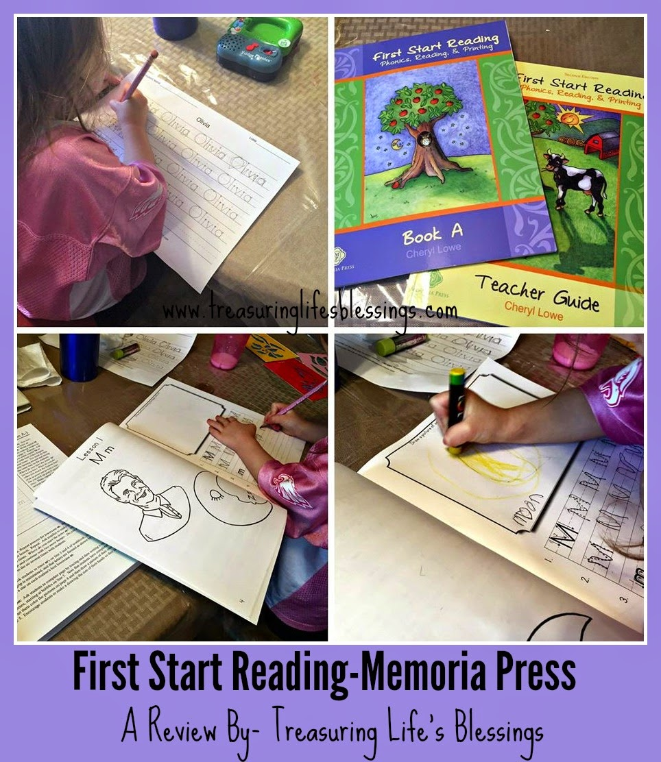 First Start Reading-Memoria Press