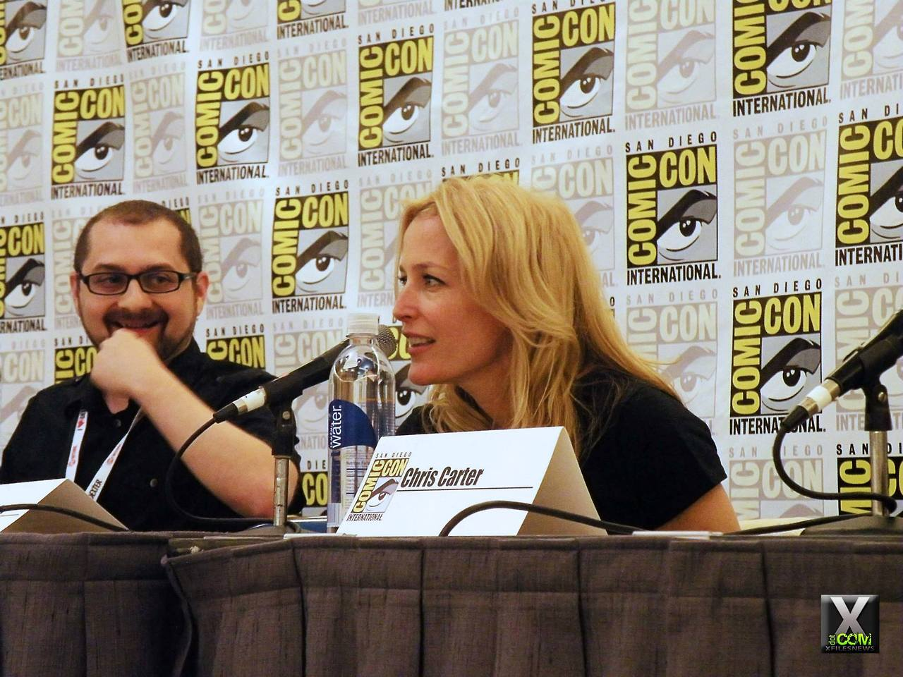 EGA San Diego Comic Con 2013 Panel De Los Comics The X