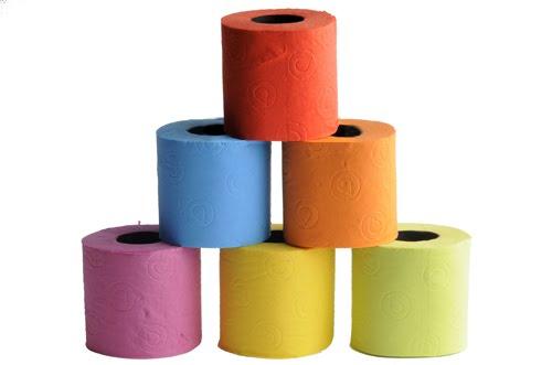 Couleur de papiers toilette - Support papier toilette original ...