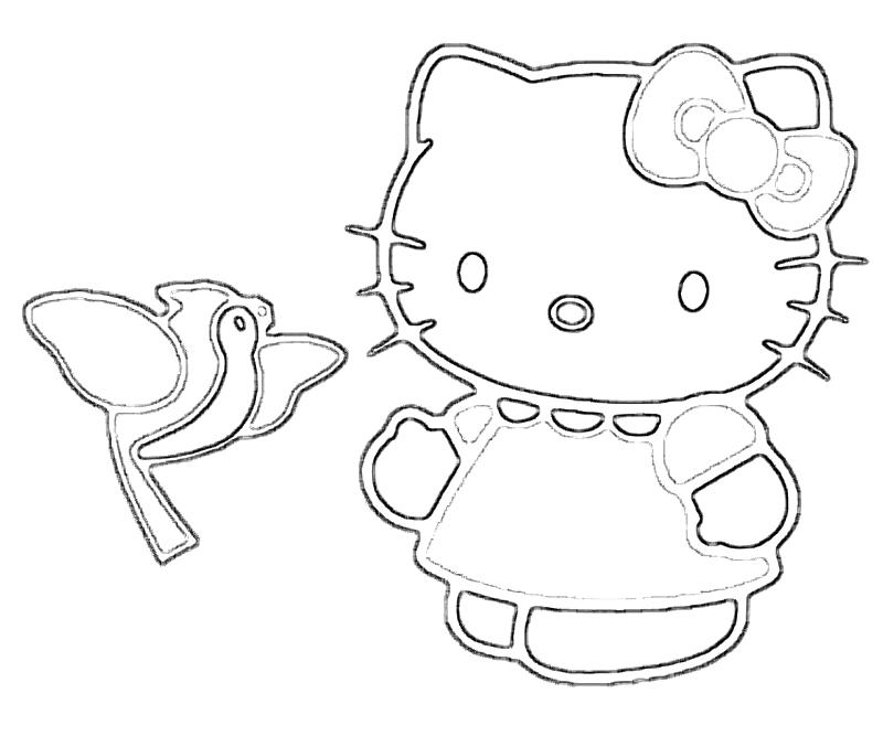 hello-kitty-character-coloring-pages